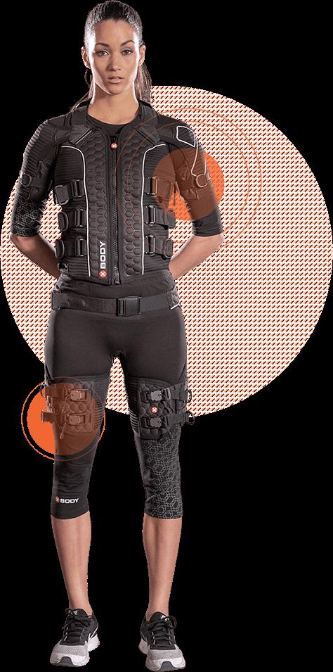 Woman wearing EMS - Smartfit